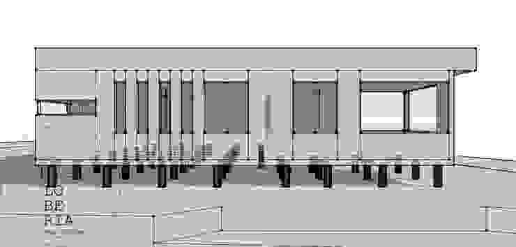 Diseño de Casa Catrianca por Lobería Arquitectura de Loberia Arquitectura Mediterráneo