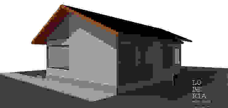 Diseño de Casa Gomez por Lobería Arquitectura de Loberia Arquitectura Mediterráneo