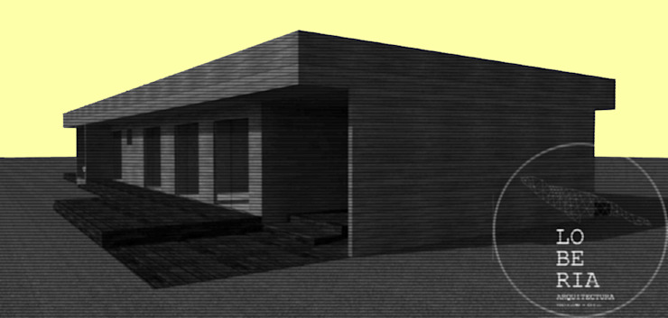 Diseño de Casa 133 por Lobería Arquitectura Casas de estilo mediterráneo de Loberia Arquitectura Mediterráneo