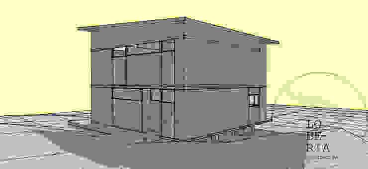 Diseño de Casa Carla por Lobería Arquitectura de Loberia Arquitectura Mediterráneo
