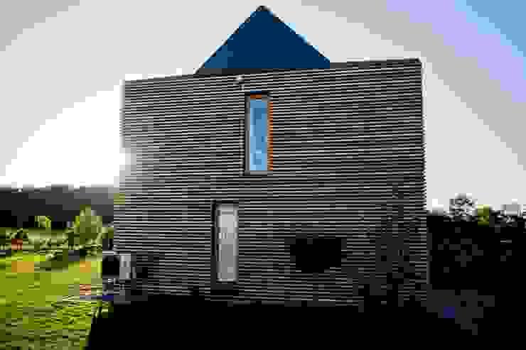 par Majchrzak Pracownia Projektowa Moderne Bois Effet bois