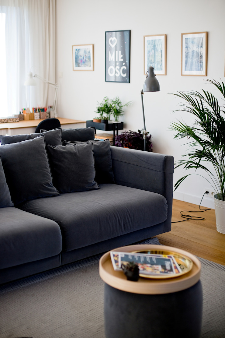 Majchrzak Pracownia Projektowa Living room White