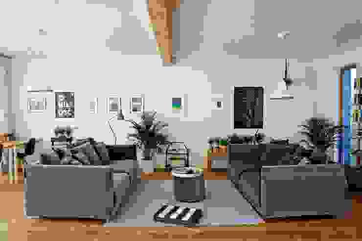 Salon moderne par Majchrzak Pracownia Projektowa Moderne