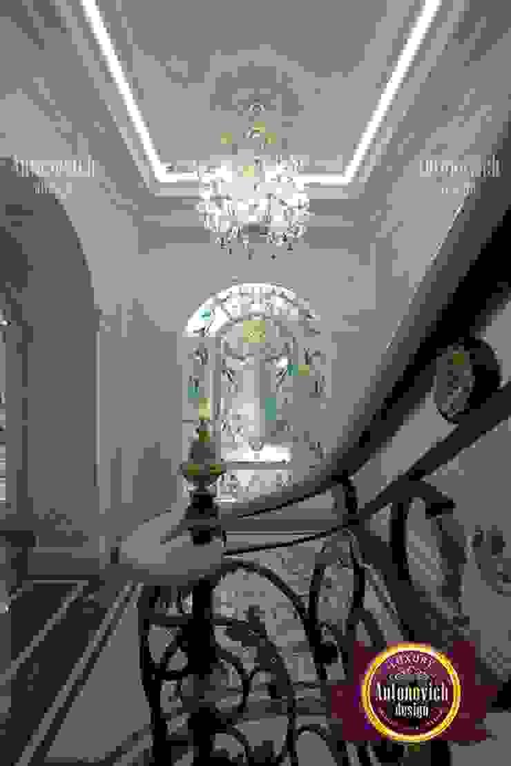 Master Hall Design Like a Hotel Lobby by Luxury Antonovich Design