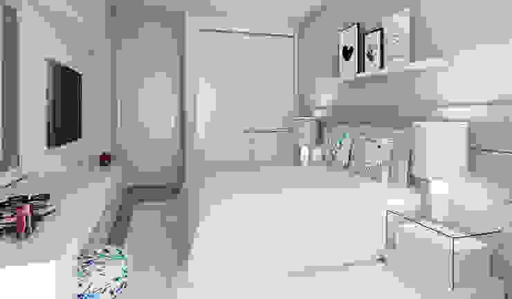 Cuartos de estilo moderno de Ana Andrade - Design de Interiores Moderno