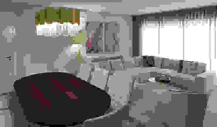Comedores de estilo moderno de Ana Andrade - Design de Interiores Moderno