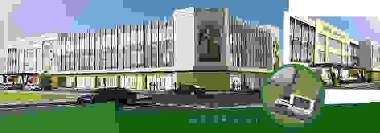 Thiết kế kiến trúc nhà hàng/trung tâm tiệc cưới Sơn Nam bởi Kiến trúc Doorway