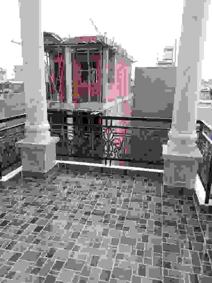 Dự án nhà phố Tân Cổ Điển dạng đầu tư bởi Công ty TNHH Thiết kế Xây dựng Ngôi Nhà Hoàn Hảo