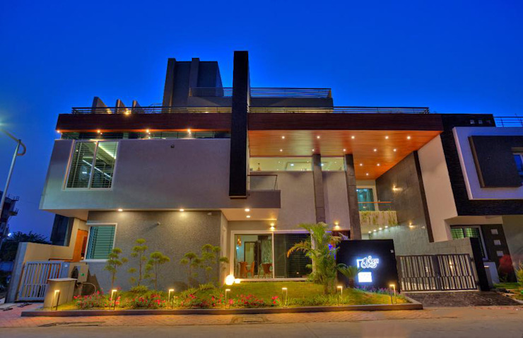 private residence project by Vinyaasa Architecture & Design Modern
