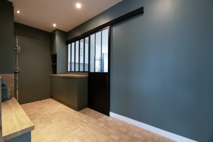 Anne Lapointe Chila Koridor & Tangga Modern Kayu Green