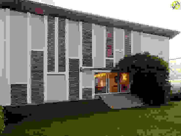 Arquitetura Sônia Beltrão & associados Country house Bricks White