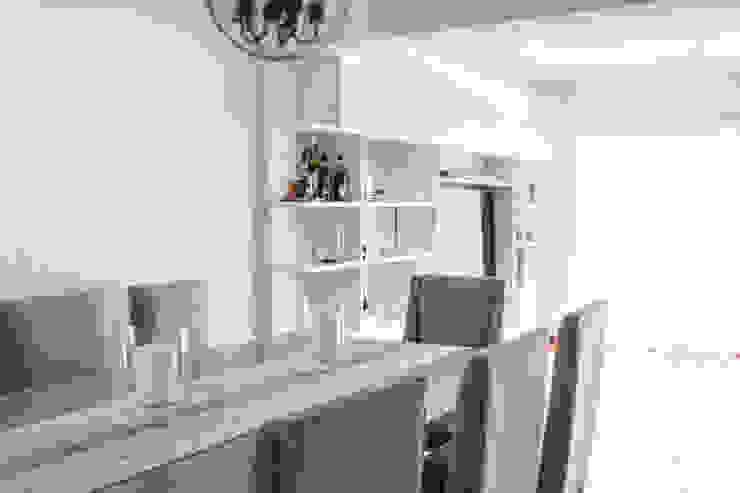 Modern dining room by Bhavana Modern