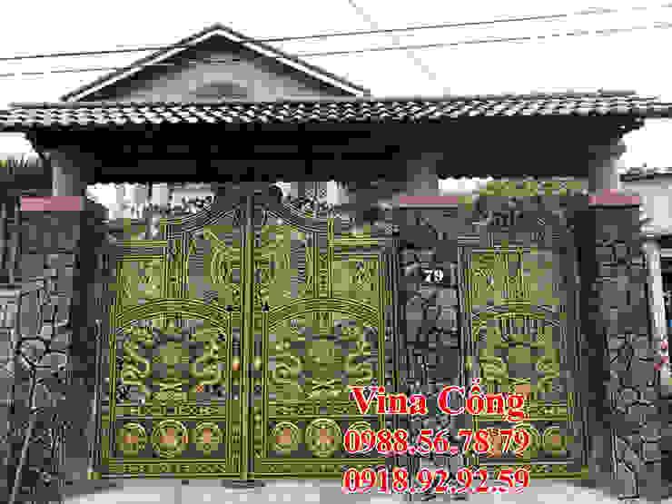 Cổng nhôm đúc giá rẻ tại bà rịa vũng tàu: Châu Á  by Công Ty TNHH Đúc Hợp Kim Nhôm Vi Na Cổng, Châu Á