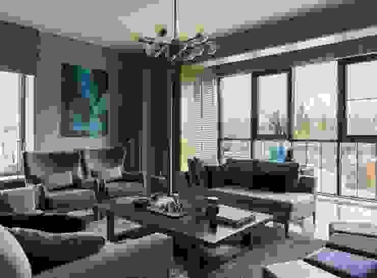 Дизайн бюро Татьяны Алениной Modern living room