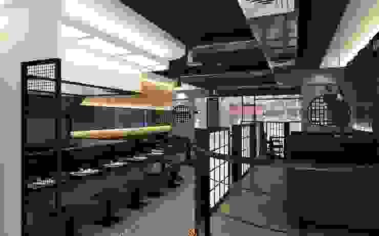 新平價燒烤啤酒餐廳- 宜蘭店 根據 京采空間設計 鄉村風