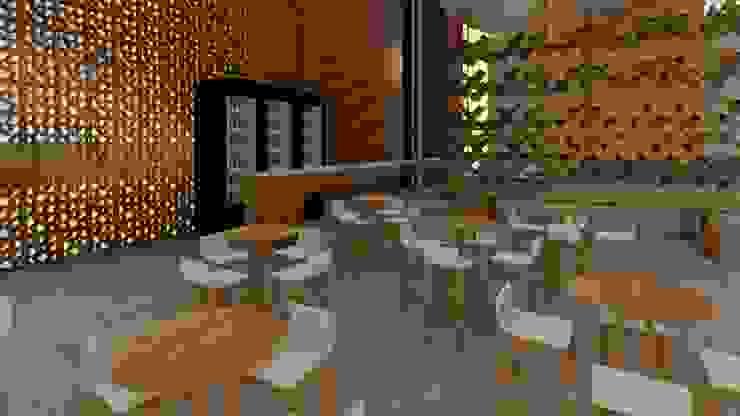 Detalhe Arquitetura e Engenharia Modern gastronomy