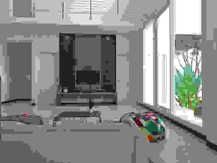 Backdrop TV Oleh Arsitekpedia Modern