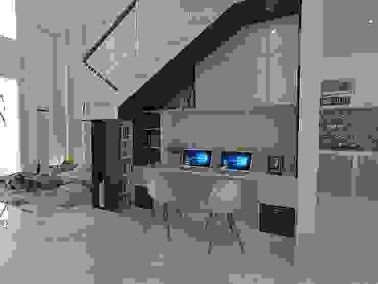 Interior Wahid Hasim Semarang Ruang Studi/Kantor Modern Oleh Arsitekpedia Modern