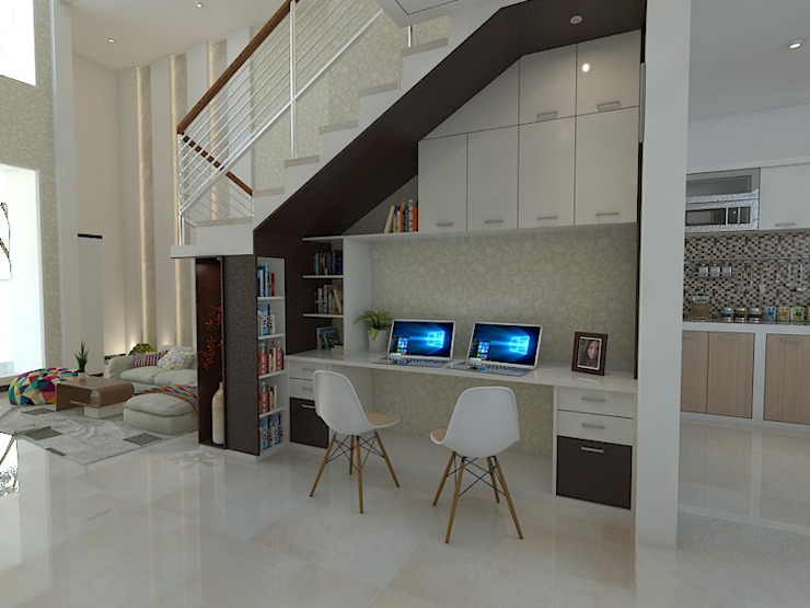 Study/office by Arsitekpedia, Modern