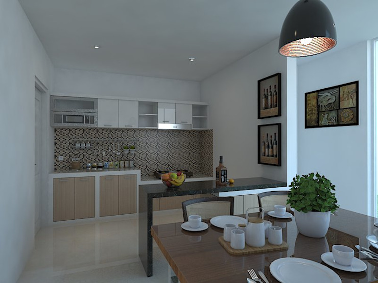 Kitchen units by Arsitekpedia, Modern