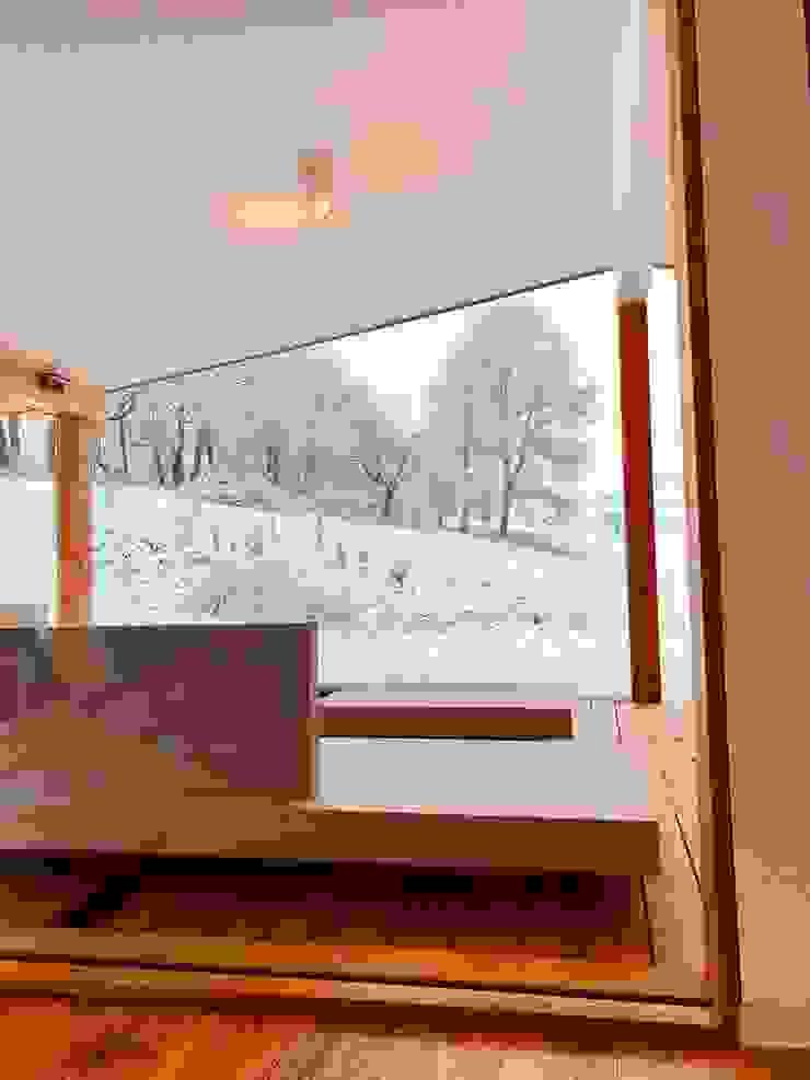 Balcon, Veranda & Terrasse modernes par Karl Kaffenberger Architektur | Einrichtung Moderne Bois Effet bois