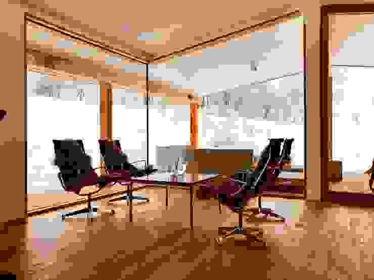 Gartenpavillon Moderne Arbeitszimmer von Karl Kaffenberger Architektur | Einrichtung Modern Holz Holznachbildung