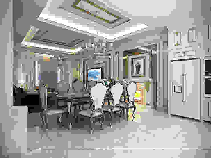 Rumah Tinggal Gandaria Ruang Makan Klasik Oleh Studio Ardhyaksa Klasik