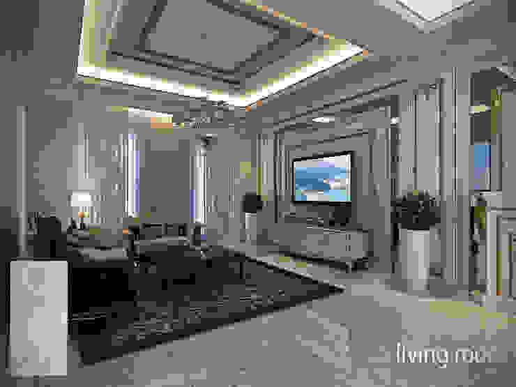 Rumah Tinggal Gandaria Ruang Keluarga Klasik Oleh Studio Ardhyaksa Klasik