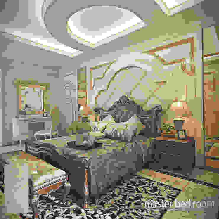 Rumah Tinggal Gandaria Kamar Tidur Klasik Oleh Studio Ardhyaksa Klasik