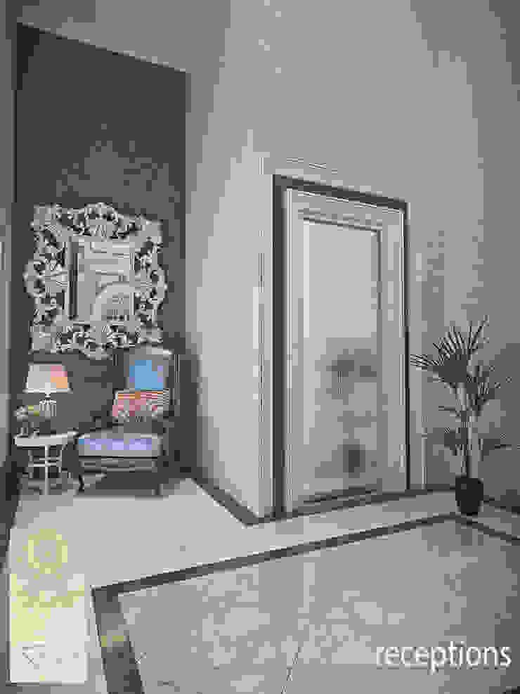 Rumah Tinggal Gandaria Koridor & Tangga Klasik Oleh Studio Ardhyaksa Klasik