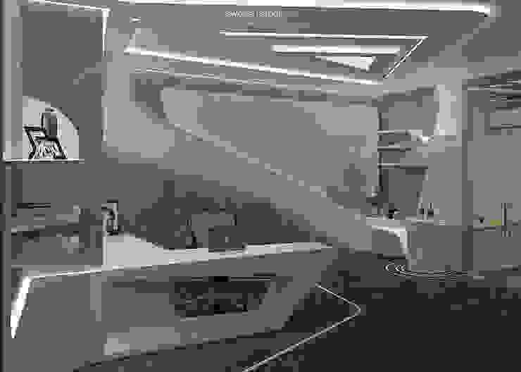 Solvey Pharma Office Bangunan Kantor Modern Oleh Sweden studio Modern