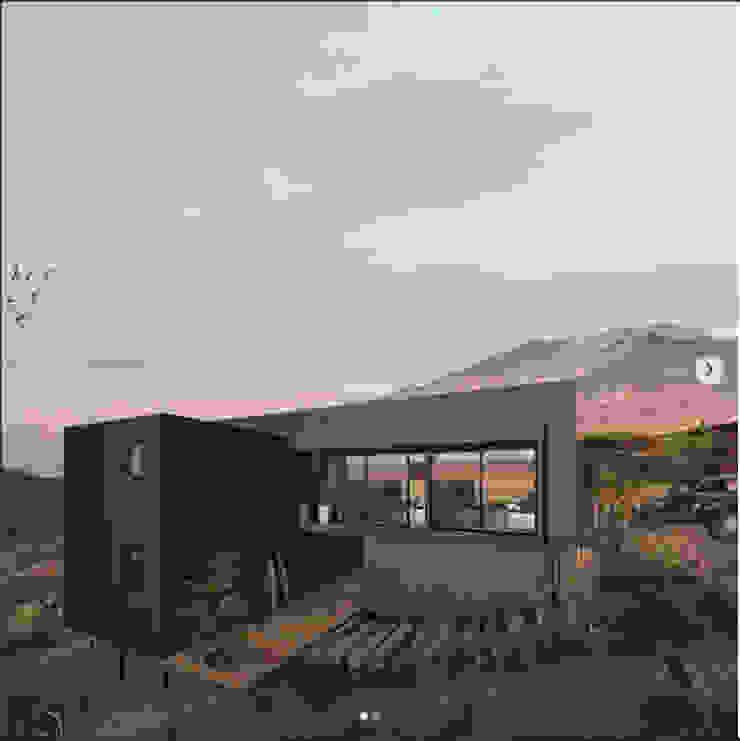 domo habitare de Domo Habitare Moderno Madera Acabado en madera