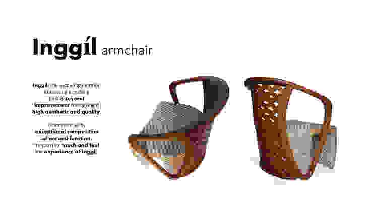 Inggíl armchair Oleh Sweden studio Asia