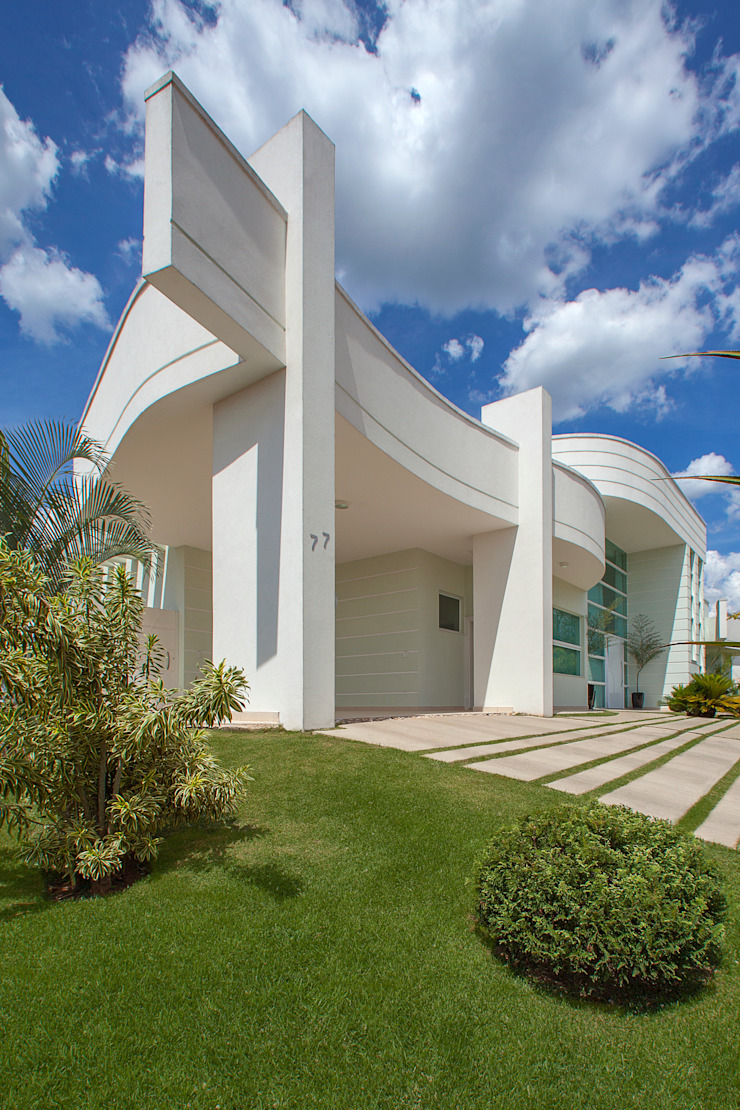 Nowoczesne domy od Arquiteto Aquiles Nícolas Kílaris Nowoczesny