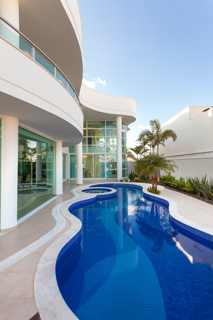 Casas modernas por Arquiteto Aquiles Nícolas Kílaris Moderno