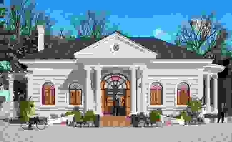 Những mẫu biệt thự kiểu pháp đẹp, kinh phí khoảng 1,5 tỷ đồng bởi Kiến Trúc Xây Dựng Incocons