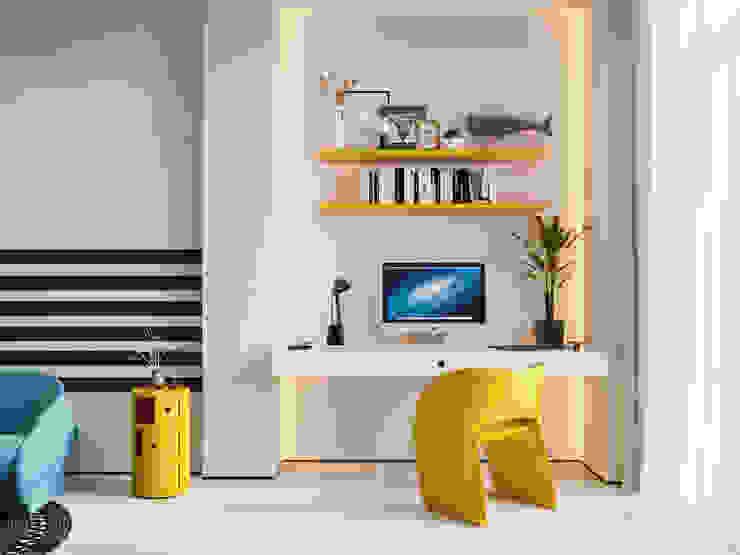 Suiten7 Dormitorios infantiles minimalistas Plástico Amarillo