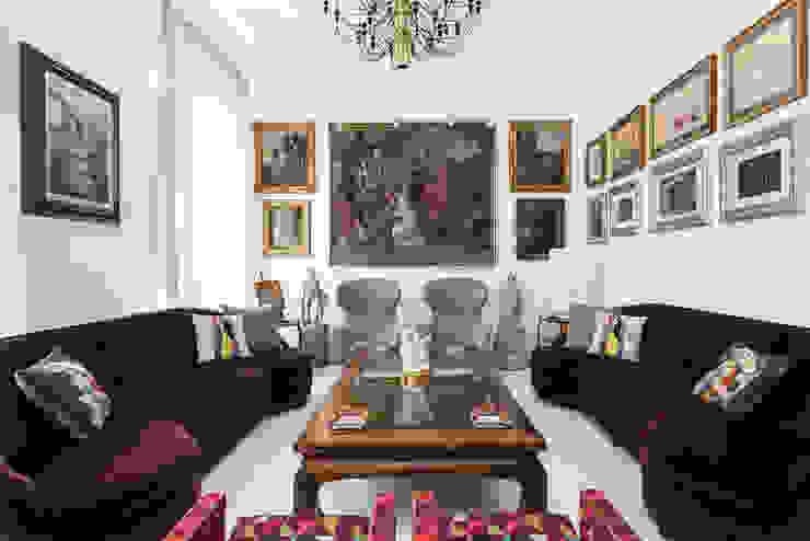 Paolo Fusco Photo ห้องนั่งเล่น หินอ่อน White