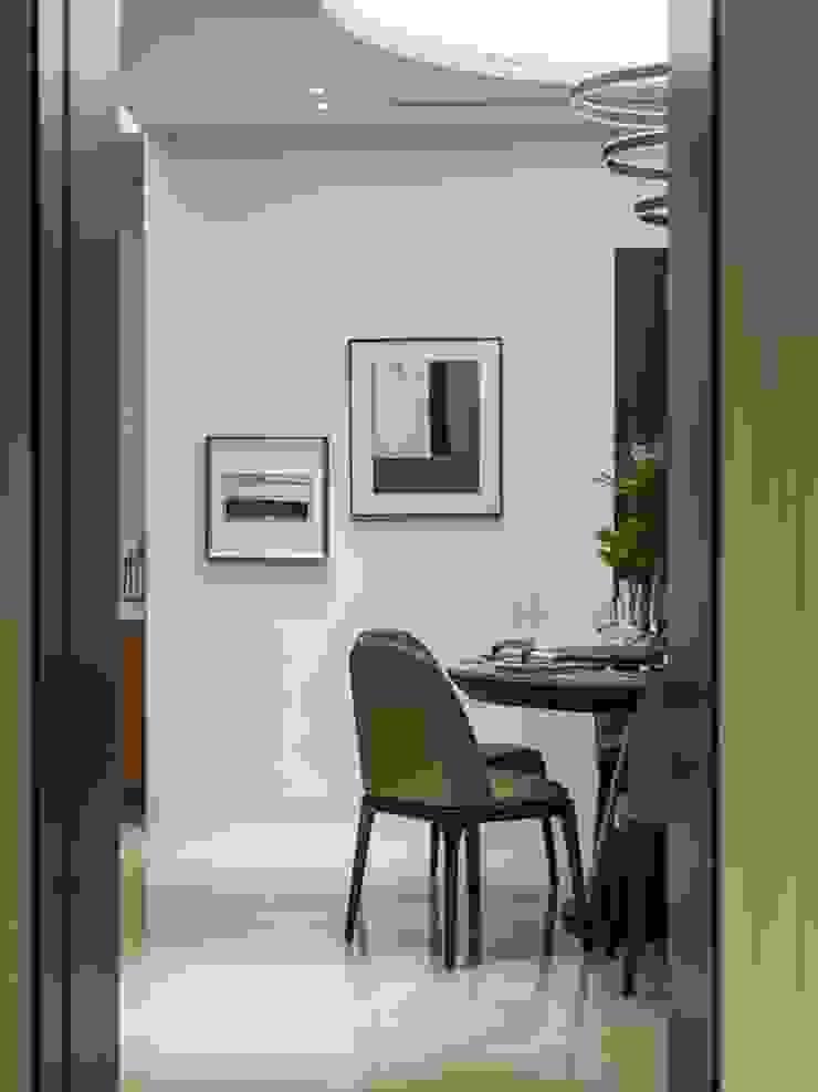 從公領域望進餐廳的角度 根據 湘頡設計 古典風