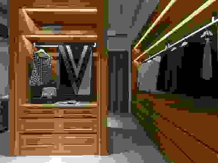 Projekty,  Garderoba zaprojektowane przez 湘頡設計