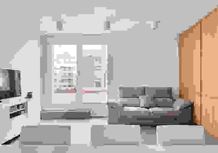 Salas de estilo  por Luxiform Iluminación, Escandinavo