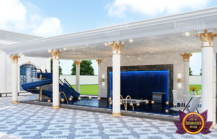 Awesome Swimming Pool Design by Luxury Antonovich Design