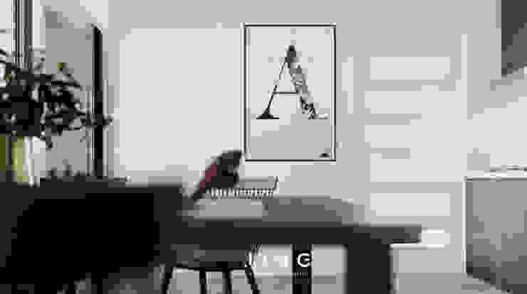 Pingtung City 陸宅 根據 景寓空間設計 簡約風