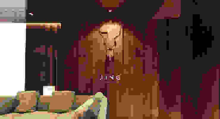 Kaohsiung 國硯 现代客厅設計點子、靈感 & 圖片 根據 景寓空間設計 現代風