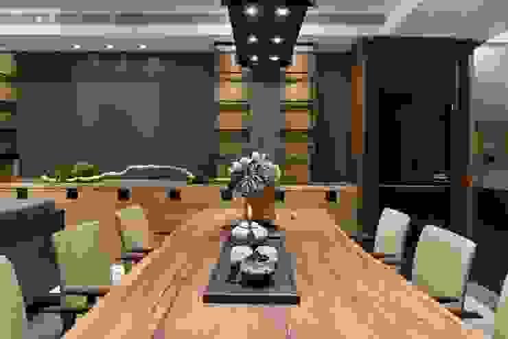 Comedores de estilo asiático de 宸域空間設計有限公司 Asiático