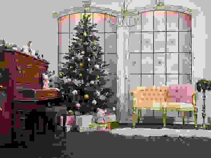 クラシカルなイベント会場 の Anastasia Reicher Interior Design & Decoration in Wien クラシック