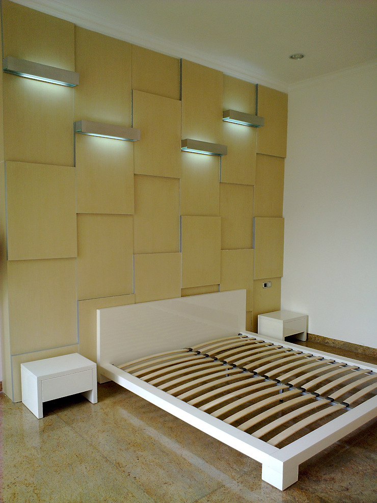 Kamar Timur Kamar Tidur Modern Oleh Sweden studio Modern