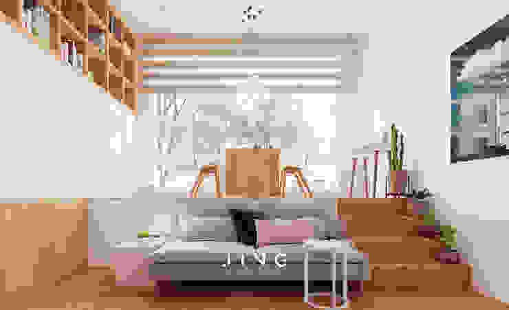 Salas modernas de 景寓空間設計 Moderno