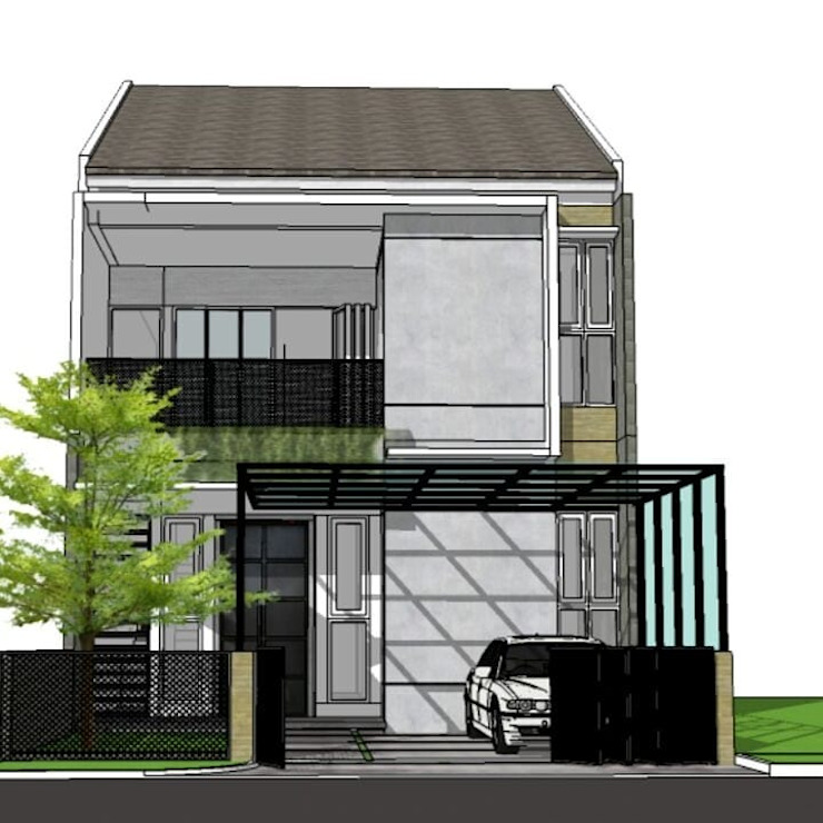 Konsep rumah Oleh Koloni Tri Arsitama