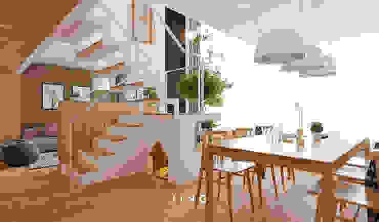 Pingtung 蔡宅 根據 景寓空間設計 現代風